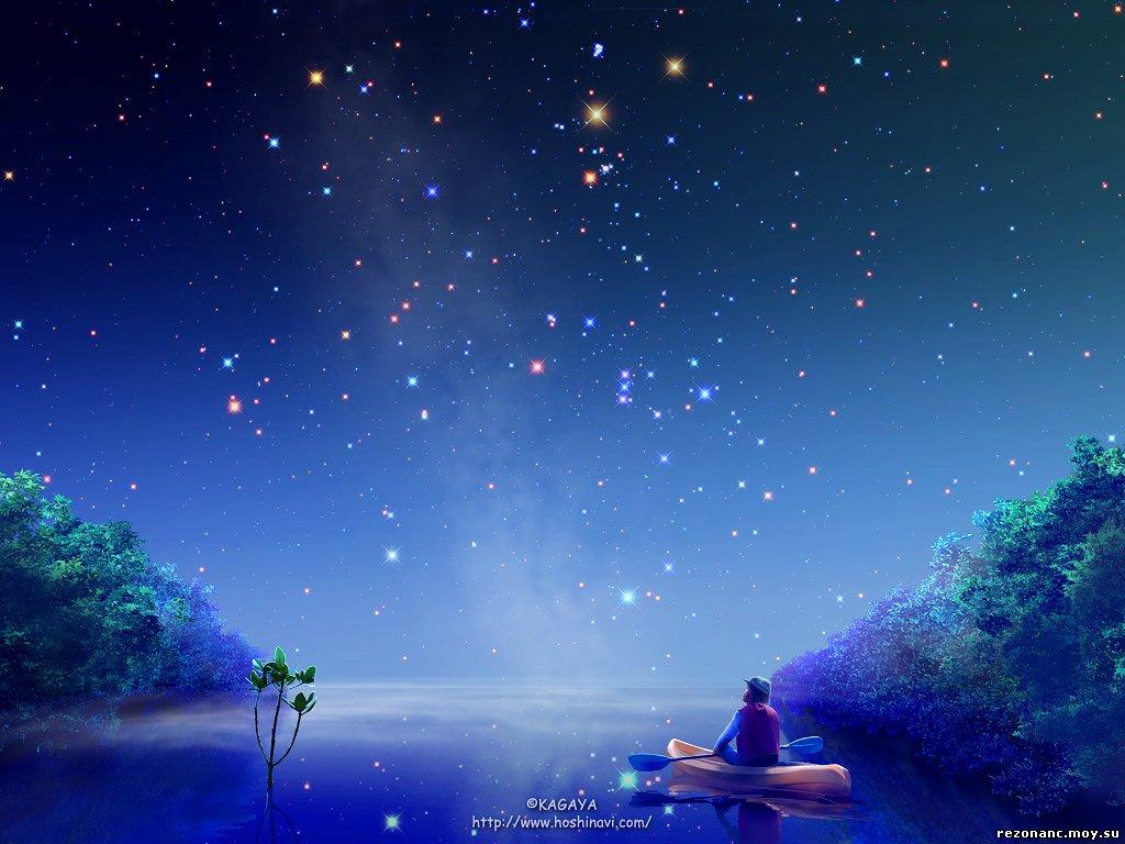 Картина звездное небо